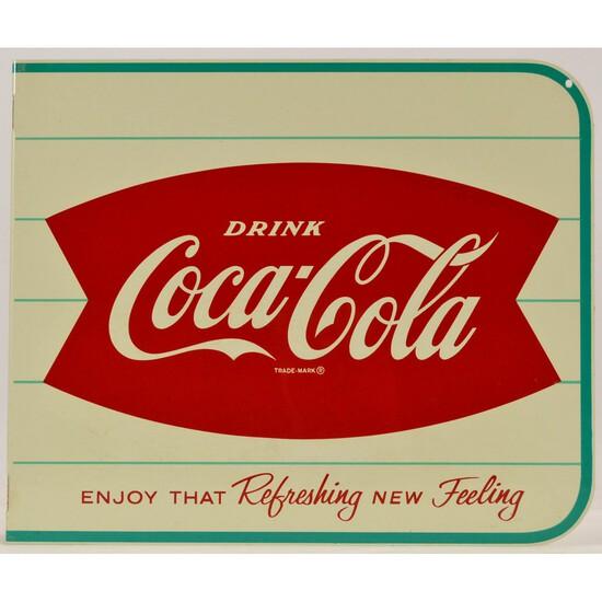 Coca-Cola Fishtail Flange Sign