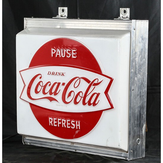 Coca-Cola Light Up Sign