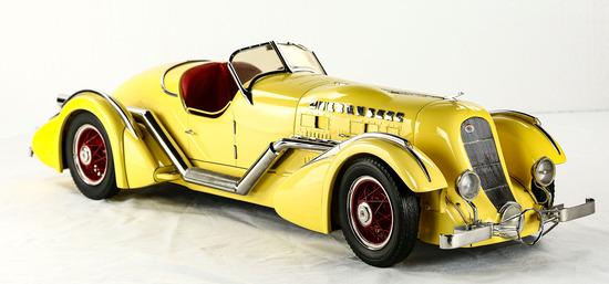 """1935 """"Mormon Meteor"""" Duesenberg Model Car"""