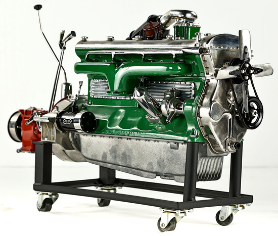 Duesenberg ¼ Scale Engine on Stand