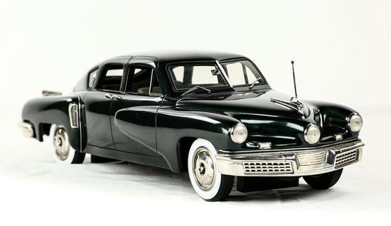 1948 Dark Green Tucker Model Car