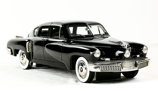 1948 Black Tucker Model Car