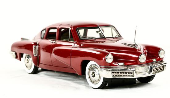 1948 Maroon Tucker Model Car