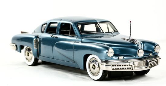 1948 Waltz Blue Tucker Model Car