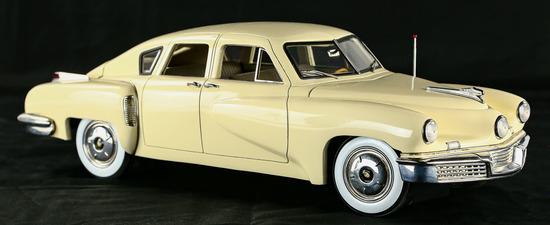 1948 Cream Tucker Model Car