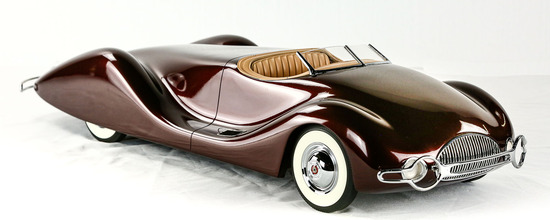 1948 Buick Streamliner by Norman Timbs Model Car