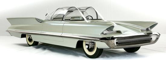 1955 Lincoln Futura Concept Model Car