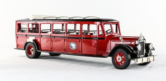 1932 Glacier Park Bus