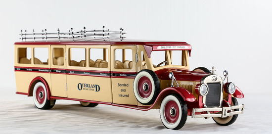 Overland Tour Bus Model