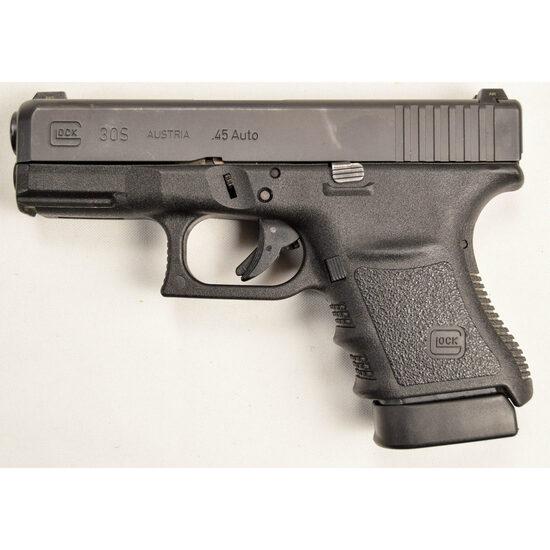Glock 30 Slim Frame .45 Caliber Pistol