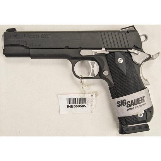 Sig Sauer Model 1911 .45 Cal Pistol