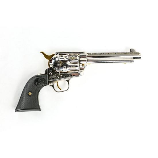 Colt SAA Sitting Bull Commem 45 Cal Revolver