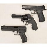 Lot of 3 BB/Pellet Pistols