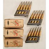 1938 Stuck Mauser 8mm M30 Scharfe Ammunition