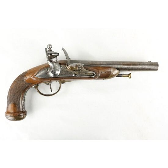 Belgian Proofed Flintlock Pistol .69 Caliber