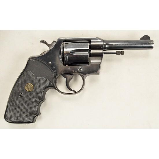 Colt Official Police Revolver 38 C