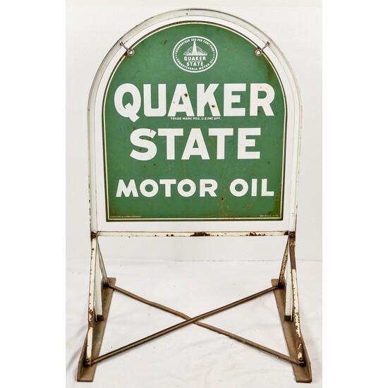 Quaker State Metal Sign