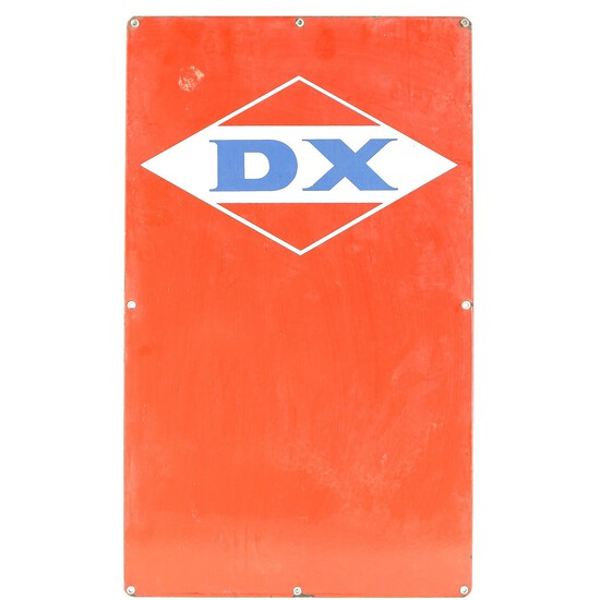 DX Gasoline Single Sided Sign