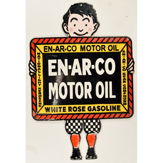 Contemporary En-Ar-Co Motor Oil Sign