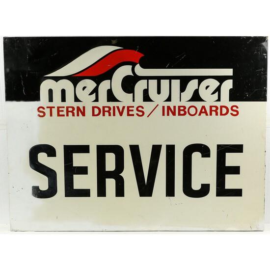 MerCruiser Metal Service Sign