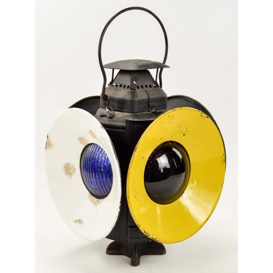 Vintage Adlake Non Sweating Railroad Lamp