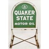 Quaker State Metal Sign