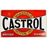 Contemporary Castrol Motor Oil Sign