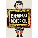 Contemporary En-Ar-Co Motor Oil Sign