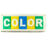 COLOR TV Advertising Sign
