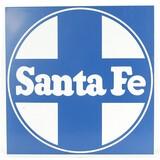 Santa Fe Sign Single Sided