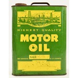 Highest Quality Motor Oil Can