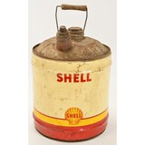 Vintage Shell Oil Can