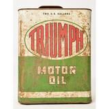 Triumph Motor Oil 2 Gallon Can