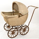 Vintage Victorian Meinecke Mfg Co. Baby Carriage