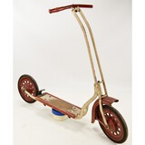 Vintage 1940s Wood & Metal Child's Scooter