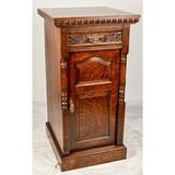 Ornate Oak Base Cabinet