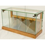 Antique Candy Store Glass Merchandising Cabinet