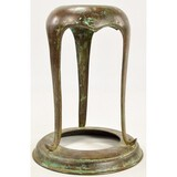 Bronze Tiffany Lamp Base Fragment