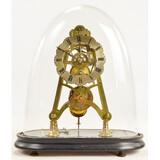 English Skeleton Fusee Clock