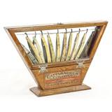 Antique Cattaraucus Barber Shop Razor Display