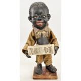Antique Rare Black Americana Advertising Automaton