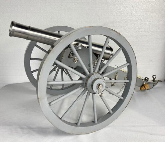 Firing Scale Model of Civil War Cannon