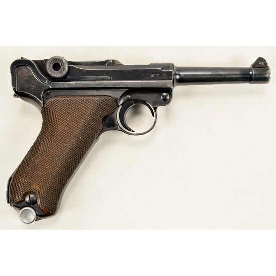 WWII German S/42 Luger 9x19
