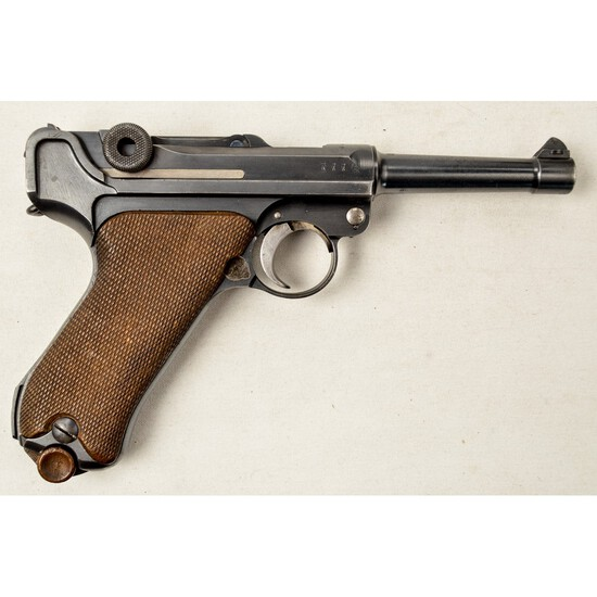 WWI German Luger P08 Pistol 9x19