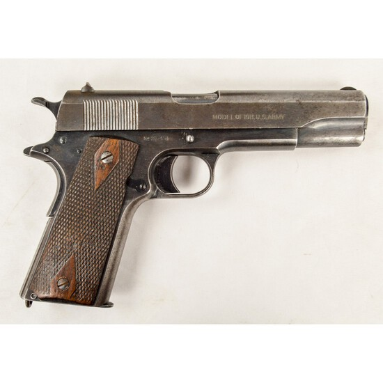 US WWI Colt M1911 Pistol .45 ACP