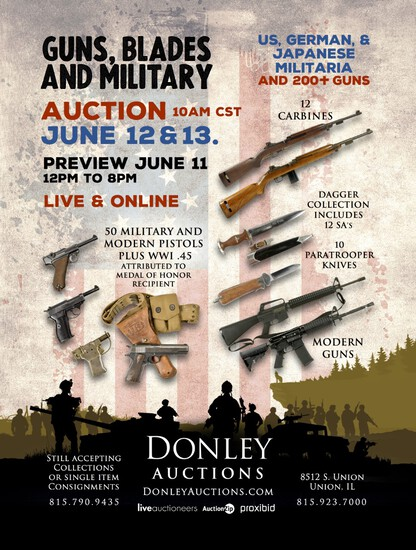 Day 2 - Military, Edged Weapons and Much More!