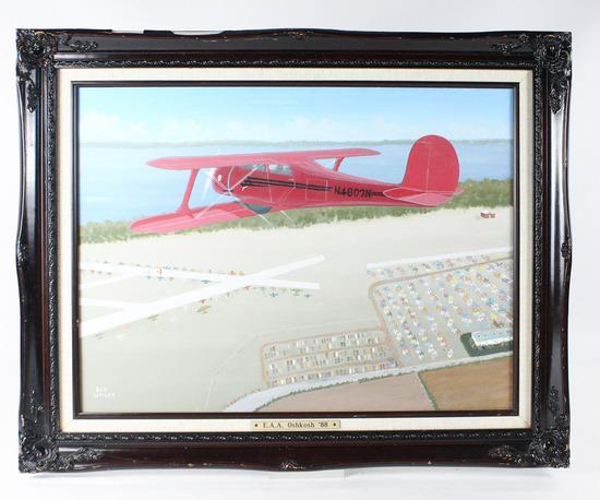 "Bob Weiler ""Oshkosh 1988"" Painting"