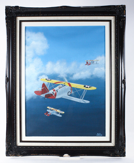 "Bob Weiler ""Grumman F Series"" Painting"