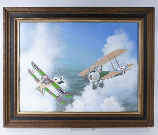 "Bob Weiler ""Dogfight World War I"" Painting"