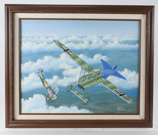 "Bob Weiler ""Fokker"" Painting"